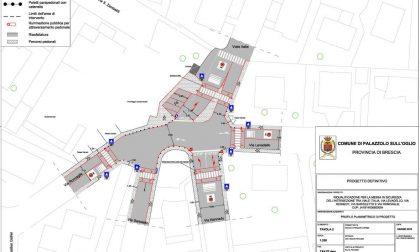 Incrocio pericoloso a Palazzolo: approvato il progetto per la messa in sicurezza