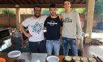 Villachiara, uno spiedo di solidarietà