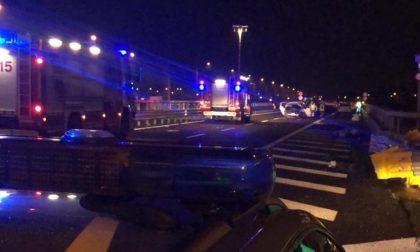 Maxi schianto in Brebemi: è morto il bimbo di quattro anni