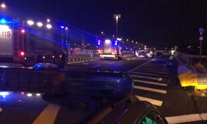 Maxi incidente in Brebemi: coinvolta una famiglia di Chiari