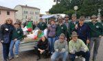 A Verolanuova Aido, Aido e Alpini in piazza con le castagne