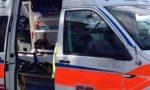Sinistro tra auto e moto a Gardone Riviera
