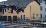 Maltempo: crolla il tetto dell'hotel Aquila a Sulzano