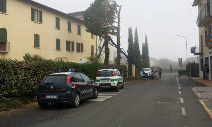 Uomo precipita a Cazzago San Martino GALLERY