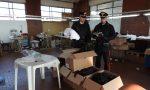 Lavoro in nero e caporalato: chiuso un laboratorio tessile