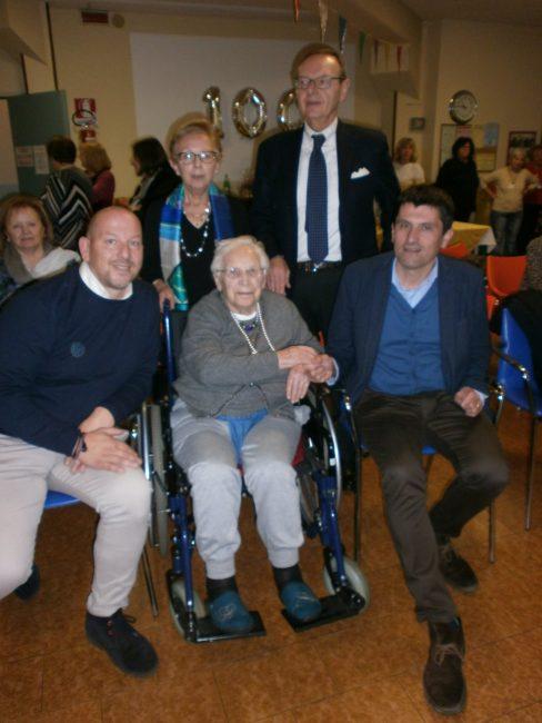 Paolina Codenotti ha festeggiato 100 anni: grande festa a Ospitaletto