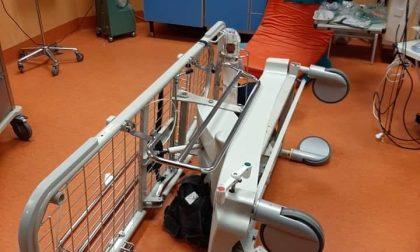 Paziente devasta il Pronto soccorso dell'ospedale di Manerbio