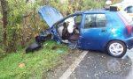 Grave scontro fra due auto sulla Sp9  AGGIORNAMENTO