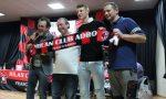 Due ospiti speciali allo spiedo del Milan Club Adro