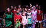 Show natalizio in inglese a Erbusco