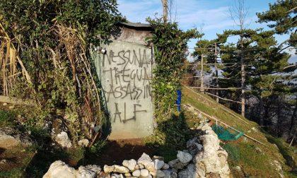 Raid vandalico: distrutti i capanni da caccia sul Montorfano