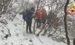 Quattro ragazzi smarriti sul sentiero verso il Pizzocolo GALLERY