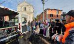 Inaugurato stamattina a Ospitaletto il nuovo pullmino per il trasporto di disabili e anziani