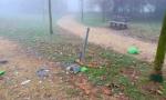 Nuovo anno, vecchie abitudini: vandali al parco Cantarane