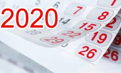 Tutto 2020: la data palindroma, l'anno bisestile, gli equinozi, le feste e i ponti