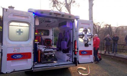 Donata dalla famiglia di Pierangelo Cucchi un'ambulanza alla Croce Rossa VIDEO