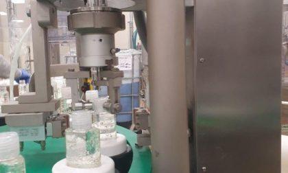 Un milione di richieste per la ditta che fabbrica il gel mani