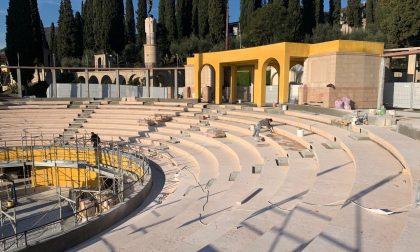 """Anfiteatro del Vittoriale: rimandata l'inaugurazione """"Un perfettissimo teatro"""""""