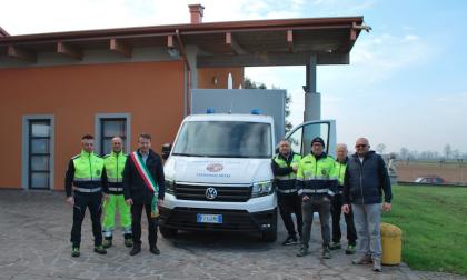 Donati da Regione Lombardia 24mila euro per il nuovo mezzo della Protezione Civile di Travagliato