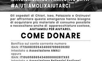 #InsiemexAsstFranciacorta: ChiariWeek adersice alla raccolta fondi per l'Asst Franciacorta