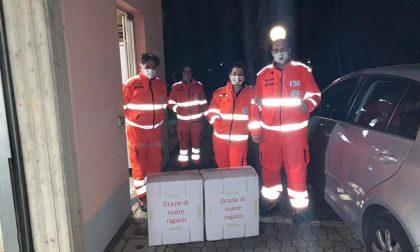 Coronavirus: donate tute e mascherine ai volontari e alle associazioni GALLERY