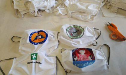 Mascherine protettive: a Travagliato le pigottaie di Unicef stanno cucendo migliaia di dispositivi