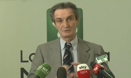 Secondo giorno della Lombardia in zona gialla, Fontana: «Prudenza e senso di responsabilità»