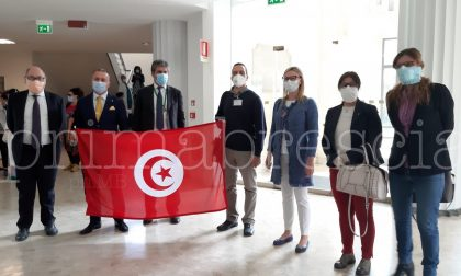 Covid-19 la sinergia tra Spedali Civili di Brescia e una delegazione di medici e infermieri tunisini