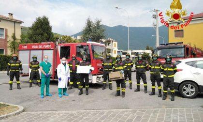 I Vigili del Fuoco di Salò donano 2 elettrodomestici all'ospedale di Gavardo GALLERY