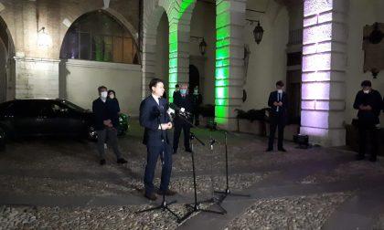 """Il premier Conte a Brescia: """"Il mio omaggio al coraggio e all'abnegazione"""" VIDEO"""
