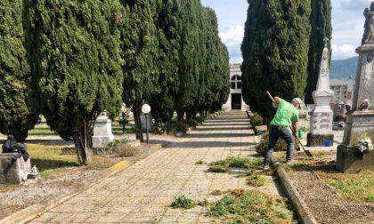 Cimiteri chiusi: a Castegnato i volontari si prendono cura dei defunti