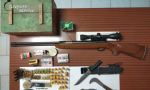 """Castel Goffredo: il """"nonno violento"""" in possesso anche di armi illegali"""