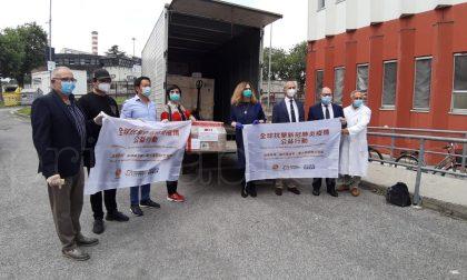 La Cina regala attrezzatura da laboratorio al Civile