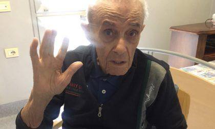 A 92 anni Arrigo vince il Covid-19