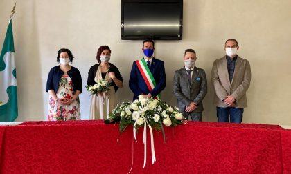 Roccafranca, celebrato il primo matrimonio all'epoca del Covid 19 VIDEO