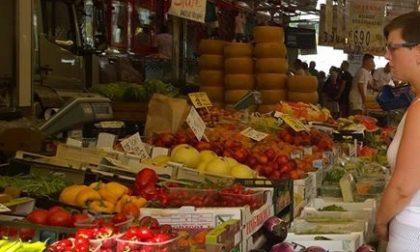 Mercato settimanale a Salò limitato ai banchi alimentari