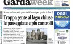 Gardaweek è in edicola. La prima pagina versione bresciana