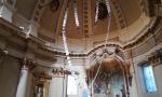 Un rosario gigante in Basilica grazie ai fedeli di Lonato