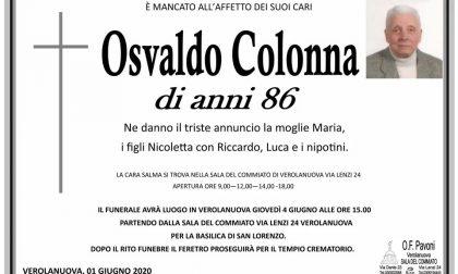 Verolanuova piange Osvaldo Colonna