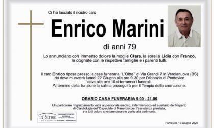 Pontevico piange Enrico Marini