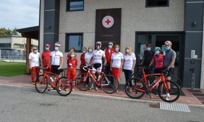 Croce Rossa: un omaggio lungo 685 chilometri per le vittime Covid