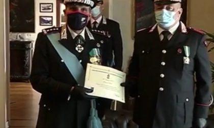 L'Arma dei Carabinieri premia il comandante Giovanni Caluisi