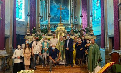 La comunità di Barbariga ha accolto don Sergio Fappani