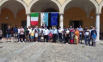 La comunità indiana ha donato materiali di sanificazione al Comune di Offlaga