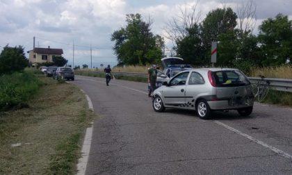 Investita un'anziana in bicicletta tra Remedello e Visano, arriva l'elicottero FOTO