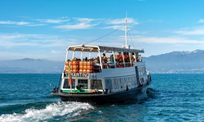 Rinforzato il servizio traghetti sul Garda