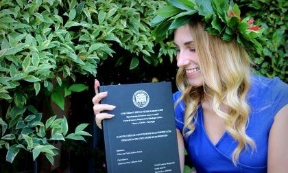 Sport e psicologia nella tesi di Lucia, ennesima laureata in streaming