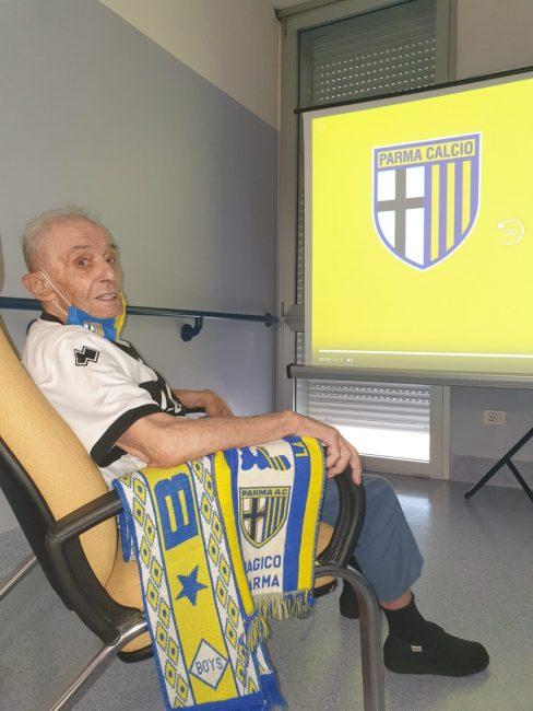 Verolanuova Arrigo Dall'Asta tifoso Parma Calcio