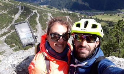 Quattro giri del Garda sulla bicicletta in 24 ore per amore del piccolo Gabriel