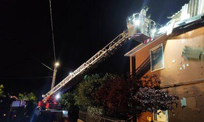 Maltempo, a Palazzolo scoperchiato un tetto: casa inagibile